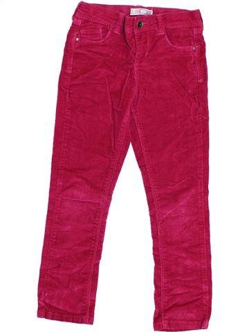 Pantalón niña OKAIDI rojo 6 años invierno #1373900_1