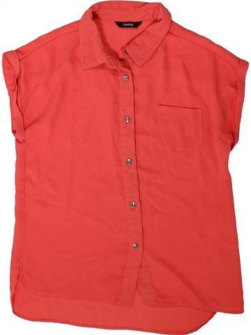 Blusa de manga corta niña GEORGE rojo 13 años verano #1373908_1