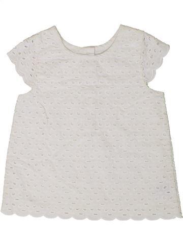 Blusa de manga corta niña MOTHERCARE blanco 2 años verano #1374049_1
