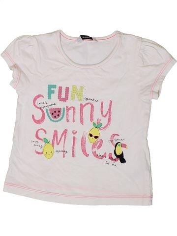 Camiseta de manga corta niña GEORGE blanco 3 años verano #1374057_1