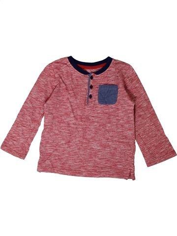 Camiseta de manga larga niño SANS MARQUE marrón 4 años invierno #1374079_1