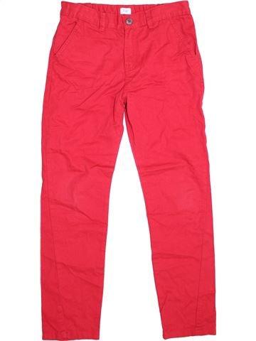 Pantalón niño F&F rojo 11 años verano #1374161_1