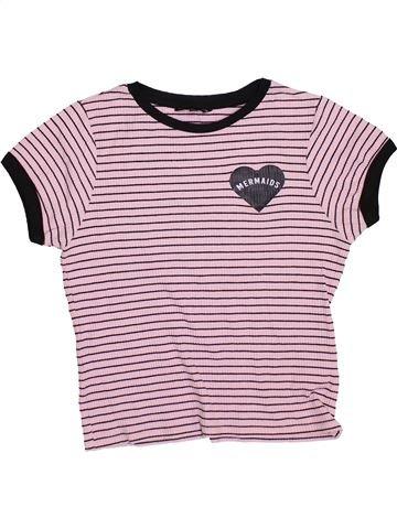 Camiseta de manga corta niña CANDY COUTURE rosa 14 años verano #1374170_1