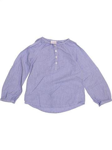 Blusa de manga larga niña NEXT gris 4 años invierno #1374180_1