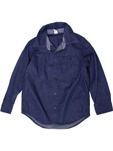 Camisa de manga larga niño GAP azul 5 años invierno #1374188_1