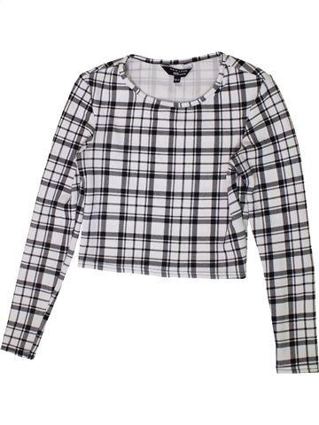 Camiseta de manga larga niña NEW LOOK gris 11 años invierno #1374224_1