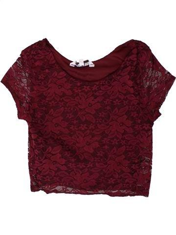 Camiseta de manga corta niña NEW LOOK violeta 13 años verano #1374245_1