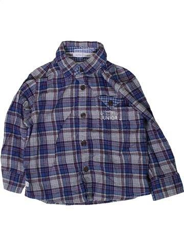 Camisa de manga larga niño JASPER CONRAN azul 2 años invierno #1374262_1