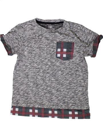 Camiseta de manga corta niño F&F gris 10 años verano #1374329_1