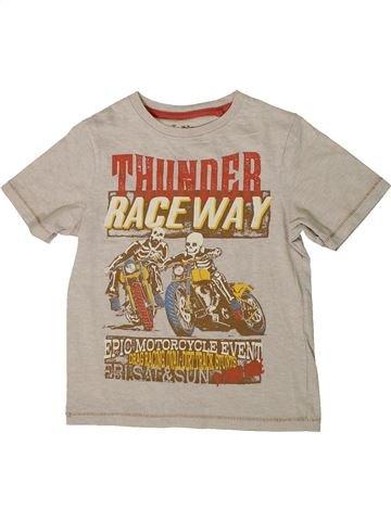 Camiseta de manga corta niño TU beige 6 años verano #1374332_1