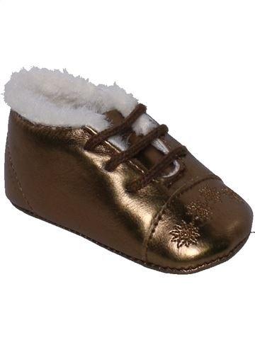 Zapatos bebe niña GRAIN DE BLÉ marrón 16 invierno #1374637_1