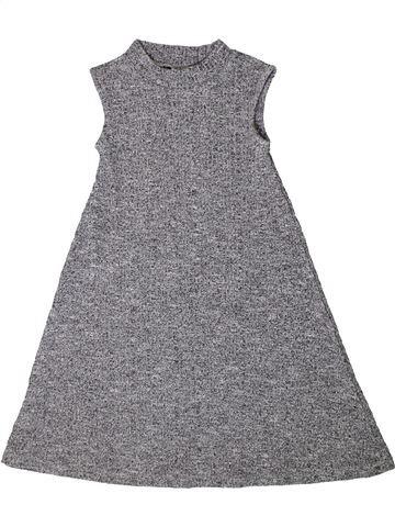 Vestido niña F&F gris 6 años invierno #1374734_1