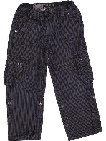 Pantalón niño ORCHESTRA negro 3 años invierno #1374761_1