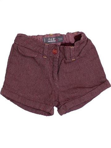 Short-Bermudas niña ORCHESTRA violeta 4 años invierno #1374780_1