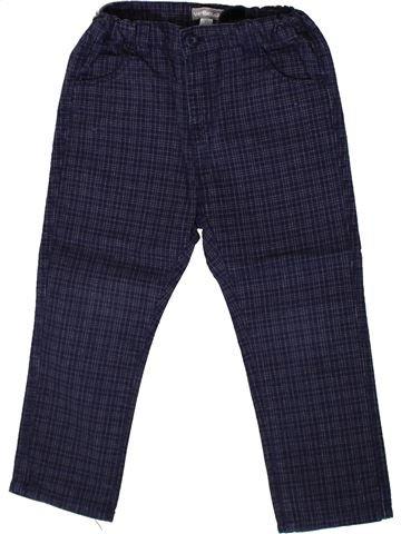 Pantalón niño VERTBAUDET azul 2 años invierno #1375475_1