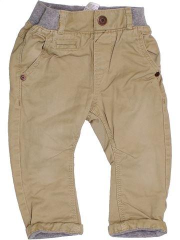 Pantalon garçon NEXT beige 9 mois hiver #1375571_1