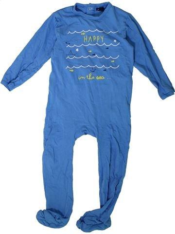 Pyjama 1 pièce garçon KIABI bleu 3 ans été #1375809_1