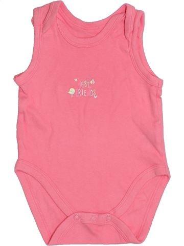 Camiseta sin mangas niña DUNNES STORES rosa 12 meses verano #1376066_1