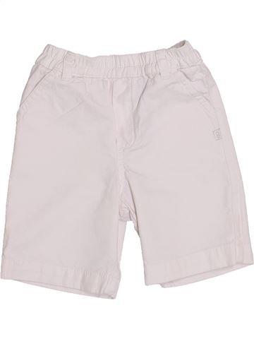 Short - Bermuda garçon OKAIDI blanc 12 mois été #1376117_1
