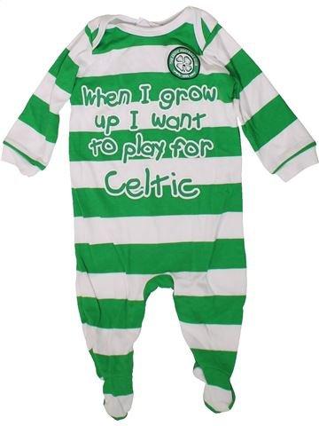 Pijama de 1 pieza niño CELTIC FOOTBALL CLUB verde 6 meses verano #1376513_1