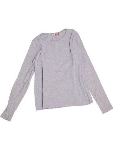 Camiseta de manga larga niña DPAM gris 14 años invierno #1376738_1