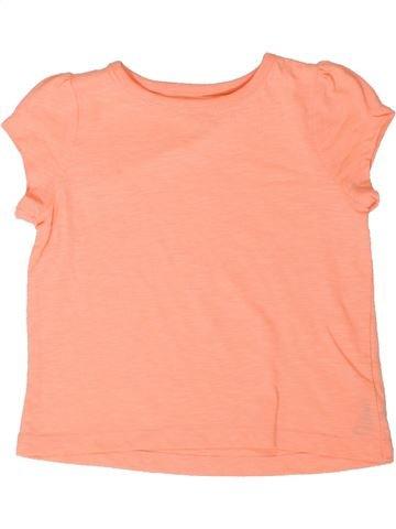 T-shirt manches courtes fille DUNNES STORES beige 4 ans été #1377005_1