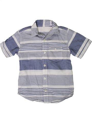 Camisa de manga corta niño DUNNES STORES azul 5 años verano #1377365_1