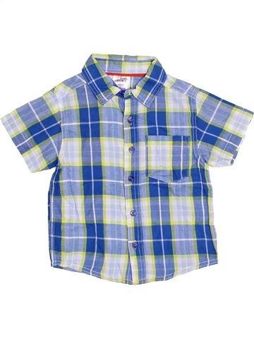 Chemise manches courtes garçon URBAN RASCALS bleu 4 ans été #1377929_1