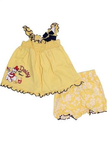 Conjunto niña DISNEY beige 6 meses verano #1378908_1
