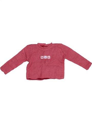 jersey niña JACADI rosa 6 meses invierno #1379081_1