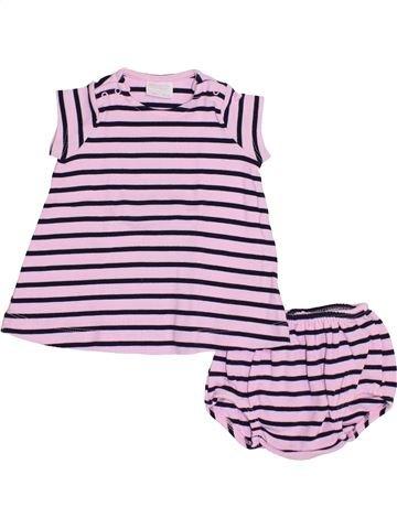 Robe fille NATALYS violet 1 mois hiver #1379691_1