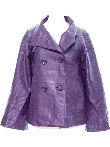 Vestes cuir simili femme ANNE L S hiver #1381677_1