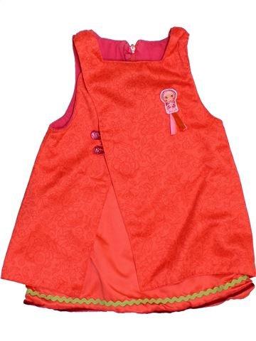Vestido niña SUCRE D'ORGE naranja 18 meses verano #1382141_1