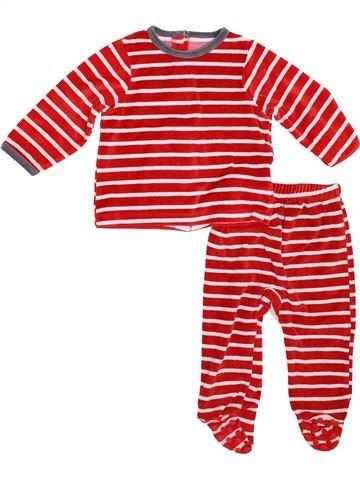Pijama de 2 piezas niño VERTBAUDET rosa 12 meses invierno #1382246_1
