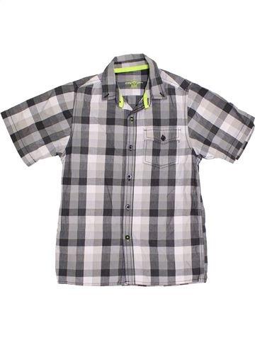 Chemise manches courtes garçon PRIMARK gris 9 ans été #1382733_1