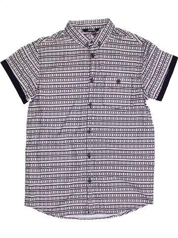 Chemise manches courtes garçon GEORGE gris 11 ans été #1382738_1