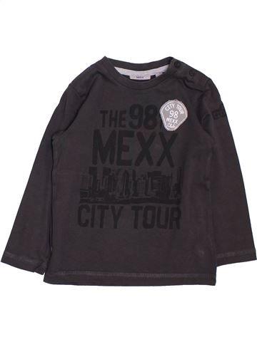T-shirt manches longues garçon MEXX beige 2 ans hiver #1383018_1