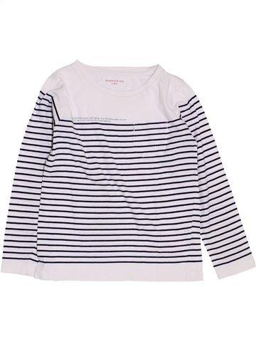T-shirt manches longues fille MONOPRIX bleu 6 ans hiver #1383221_1