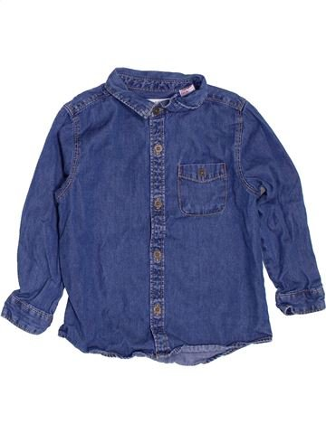 Chemise manches longues garçon ZARA bleu 3 ans hiver #1384232_1