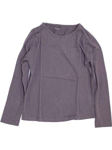 T-shirt manches longues fille MONOPRIX violet 10 ans hiver #1384481_1