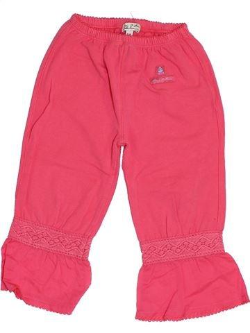 Pantalon fille ELIANE ET LENA rose 2 ans été #1385079_1