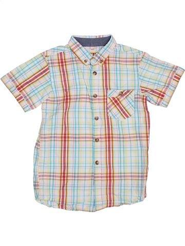 Chemise manches courtes garçon PRIMARK blanc 6 ans été #1385244_1