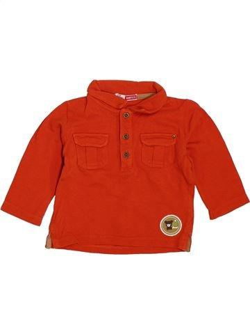 Polo de manga larga niño DPAM rojo 6 meses invierno #1385704_1