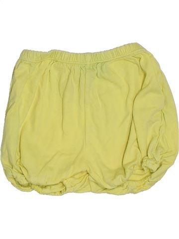 Short - Bermuda fille DPAM jaune 18 mois été #1386041_1