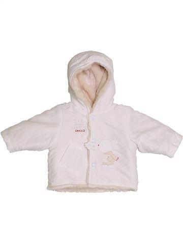 Abrigo niña CHICCO blanco 6 meses invierno #1386090_1