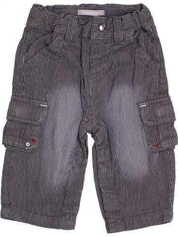 Pantalon garçon 3 SUISSES bleu 9 mois été #1386758_1
