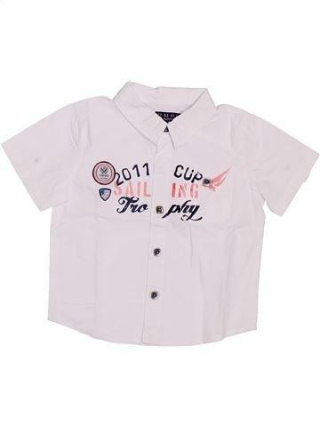 Camisa de manga corta niño GENERATION Z blanco 6 meses verano #1386760_1
