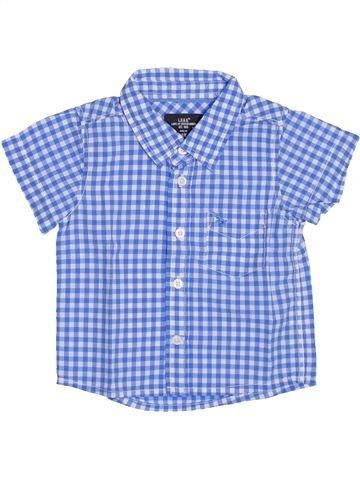 Chemise manches courtes garçon H&M bleu 6 mois été #1386766_1