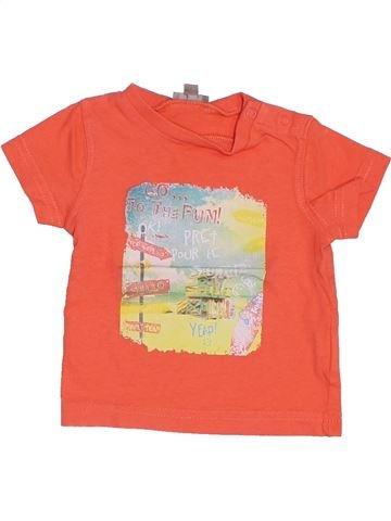 Camiseta de manga corta niño GENERATION Z naranja 3 meses verano #1387466_1