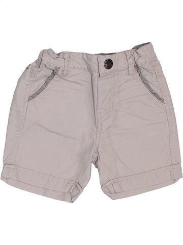Short-Bermudas niño JEAN BOURGET gris 9 meses verano #1387474_1